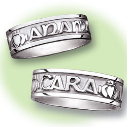Men's Mo Anam Cara My Soul Mate Silver Ring