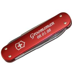 Personalized Groomsmen Swiss Army Money Clip Pocket Knife