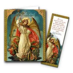 Saint Michael Archangel Note Cards