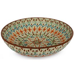 Autumn Daisy Ceramic Bowl