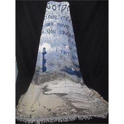 Footprints Memorial Blanket