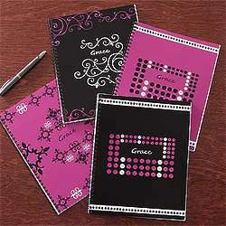 Just Her Style Personalized Notebooks
