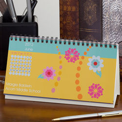 Personalized Just Her Style Desk Calendar