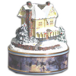 Victorian Christmas II Heirloom Music Box