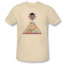 Parks and Recreation Pyramid of Greatness T-Shirt