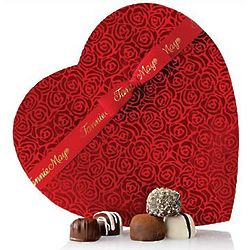 Fannie May Truffles Heart Gift Box