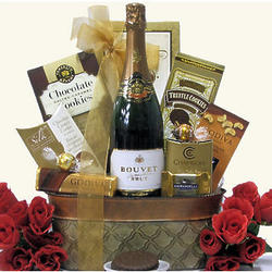 Sparkling and Sweet Anniversary Gift Basket