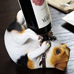 Playful Pup Wine Bottle Holder