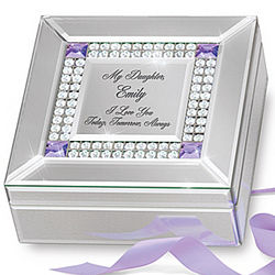 Daughter I Love You Personalized Music Box