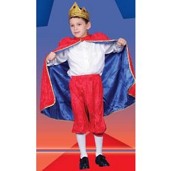 Deluxe Royal King Red Dress Up Costume