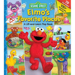 Elmo's Favorite Places Lift the Flap Book