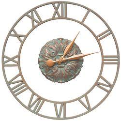 """Cambridge Floating Ring Indoor/Outdoor 21"""" Wall Clock"""