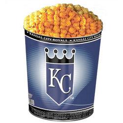 Kansas City Royals 3-Way Popcorn Tin