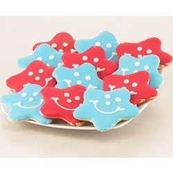Star Smiley Cookies