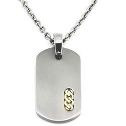 Titanium Dogtag Necklace