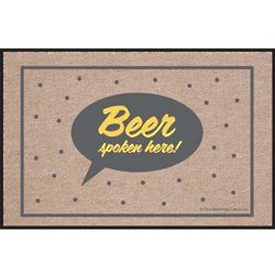 Beer Spoken Here Doormat