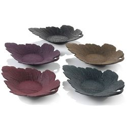 Oak Leaf Cast Iron Coaster