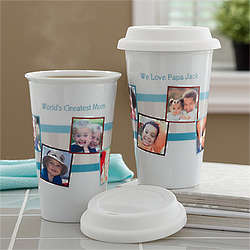Personalized Photo Message Travel Tumbler