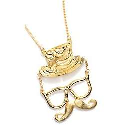 Mustache Man Pendant Necklace