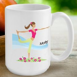 Personalized Go-Girl Coffee Mug