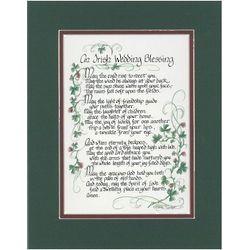 An Irish Wedding Blessing Print