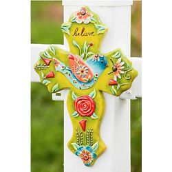 Believe Colorful Outdoor Cross