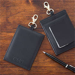 First Class Debossed Black Luggage Tag