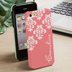 Damask iPhone 5 Personalized Cell Phone Hardcase
