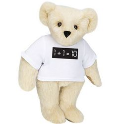 Binary Code Teddy Bear