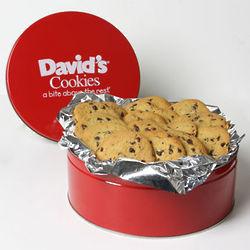 Sugar Free Chocolate Chip Cookies Gift Tin