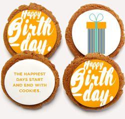 8 Cookies Make Me Happy Birthday Gift Box