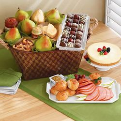 Serve & Savor Ham Tray Buffet Basket