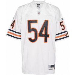 Brian Urlacher Chicago Bears Autographed Swingman Jersey