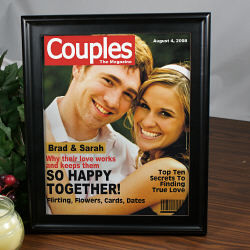 Personalized Magazine Cover for Couples
