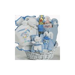 Baby Boy Happiness Gift Basket