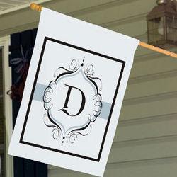 Personalized Monogram House Flag