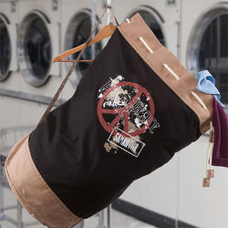 Personalized Peace Laundry Bag
