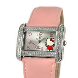 Hello Kitty Rectangular Dial Watch