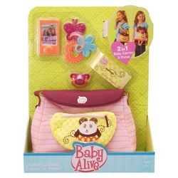 Baby Alive 2-in-1 Carrier and Purse