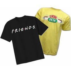 Friends Two-Pack Logo and Central Perk T-Shirts
