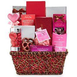 Fannie May Love Always Gourmet Chocolate Gift Basket