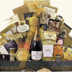 Elegant Anniversary Wishes Gift Basket