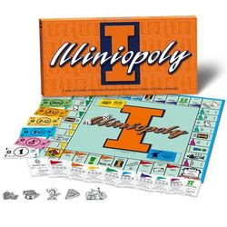 Illinois Fighting Illini Illiniopoly Board Game
