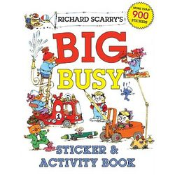 Richard Scarry's Big Busy Sticker and Activity Book