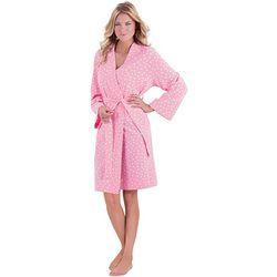 Soft Cotton Pink Robe
