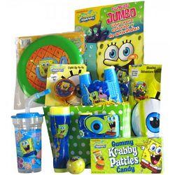Spongebob Barrel of Fun and Games Gift Basket