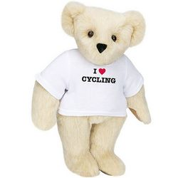 I Heart Cycling Teddy Bear