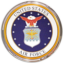 United States Air Force Official Seal Wll Era Wall Decor