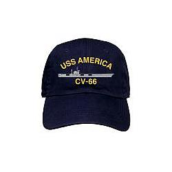 Custom Embroidered Polo Cap with Ship Design