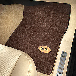Luxury Floor Mats with Monogram